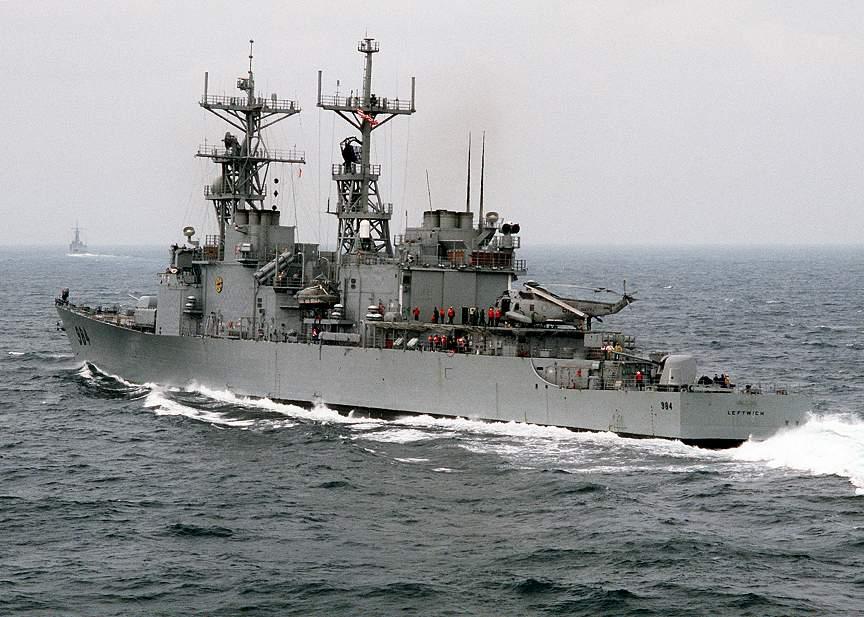 USS Leftwich DD984