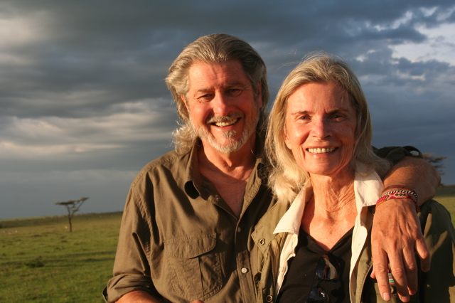 Christopher and Toni Law on the Masai Mara