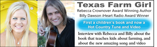 Rebecca Crownover and Billy Dawson Texas Farm Girl