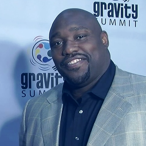 Warren Sapp at Gravity Summit
