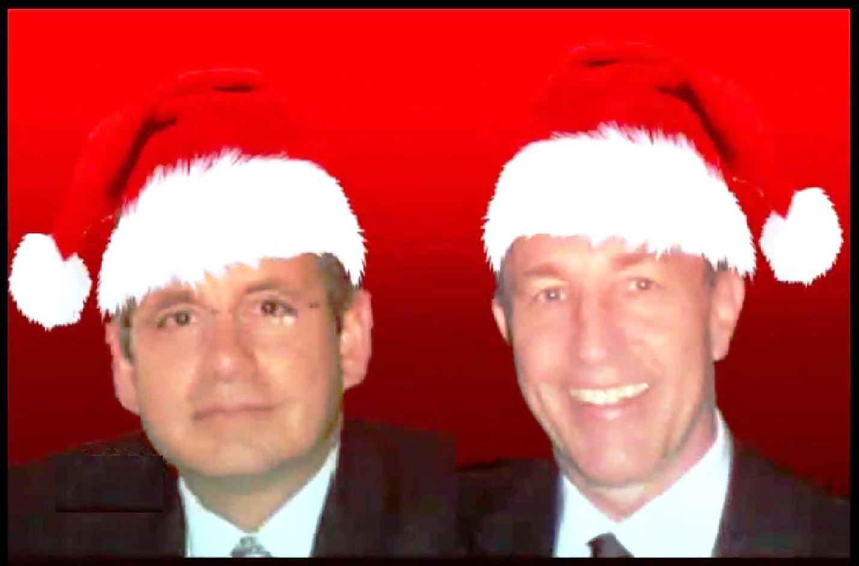 pic jw and bob santa