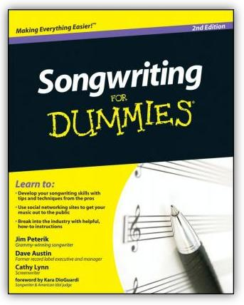 book songwriting for dummies