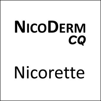 Nicoderm Nicorette