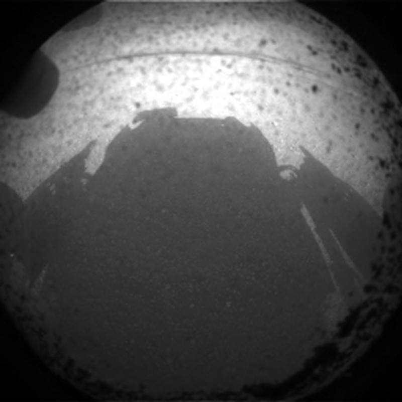 pic Mars Rover Cam First Shots