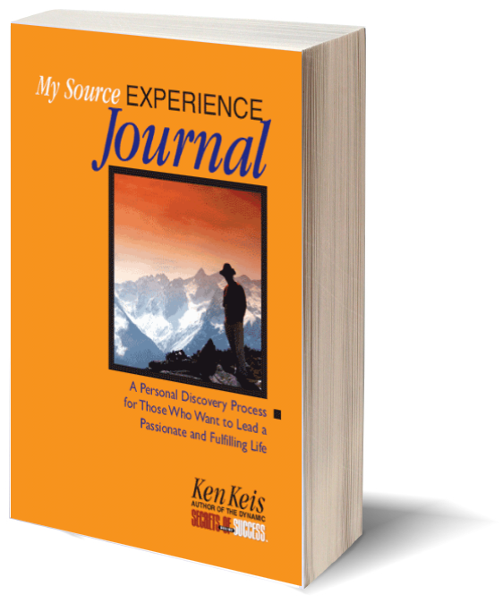 ken keis My Source Experience Journal
