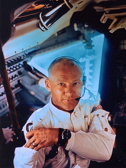 pic buzz aldrin on apollo