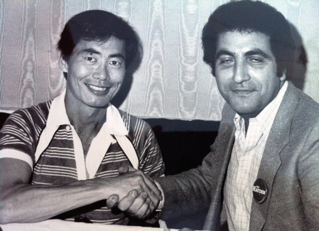 George Takei and Georges Lachkar