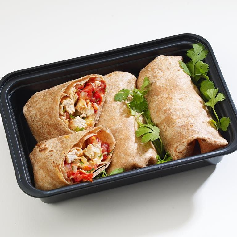 Chicken and Bean Burrito Recipe