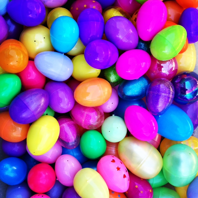 Colorful Eggs by Valerie Najarian