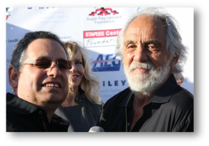 JW Najarian and Tommy Chong sh