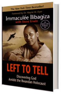 book cover immaculee left to tell