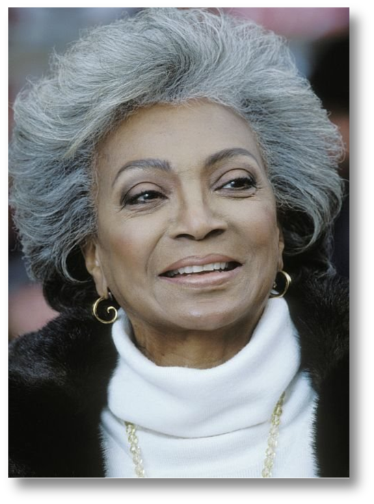 Nichelle Nichols Actress Lt. Uhura Star Trek